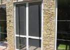 Zsanéros szúnyogháló dupla ajtóra