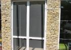 Zsanéros szúnyogháló duplaszárnyú ajtóra