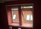 Dupla tetőtéri ablakra szereltünk szúnyoghálót