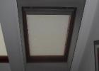 Szúnyogháló gipszkartonos tetőtéri ablakra
